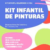 Kit Colorindo A Vida