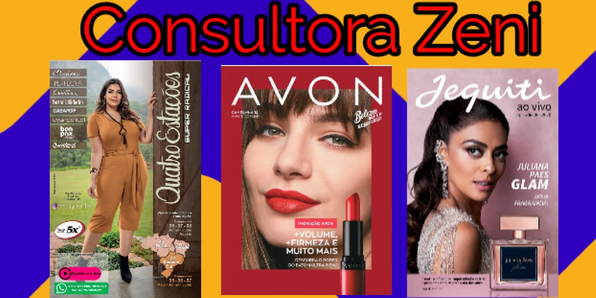 Consultora Zeni 4 Estações, Avon E Jequiti
