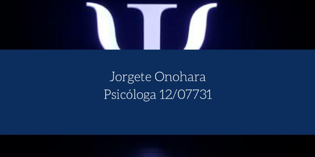 Psicóloga Jorgete Onohara